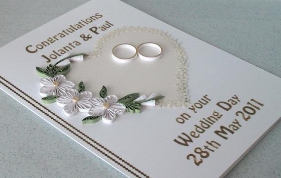 Свадебный карты, поздравления, покрытый перьями цветы, персональные имена и даты, бумага рюш