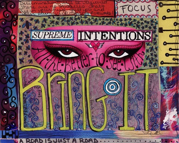 Supreme Intentions - Bring It - 8x10 Print - FREE SHIP