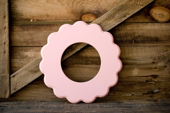 "8x8 whimsical and unique picture frame ""COOPER"" Circular"