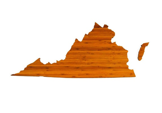 AHeirloom's Virginia State Cutting Board