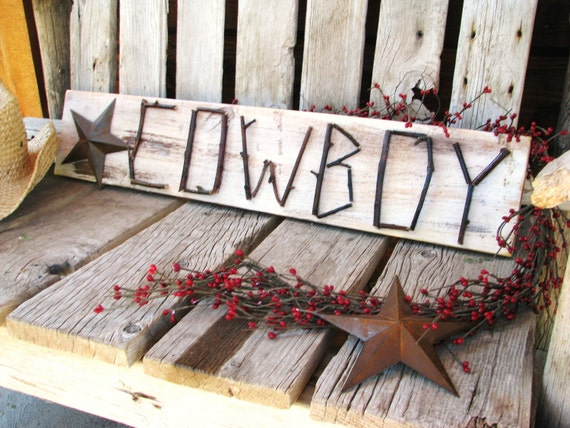 Homemade country western table decorations photograph home for Decoration western country