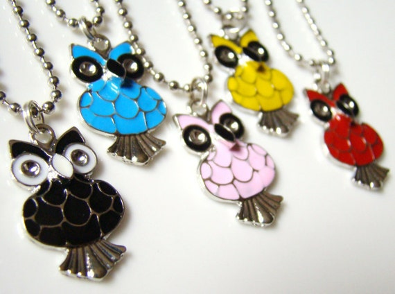 What A Hoot - Charm Necklace