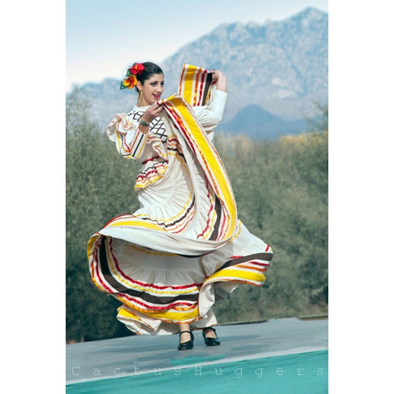 Folklorico Dancing Fine Art southwest Photograph Mexico Photography Dancer Photo 8x12