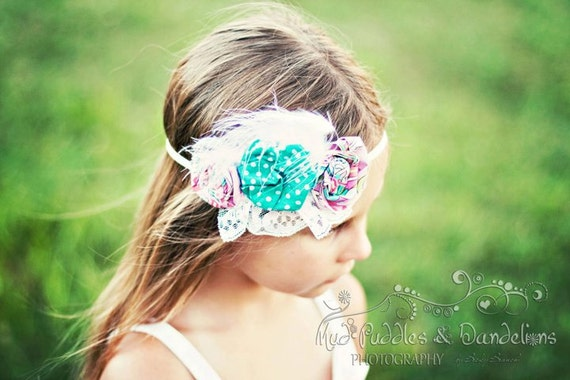 Lily Headband PDF Pattern How to Ebook with a No SEW option