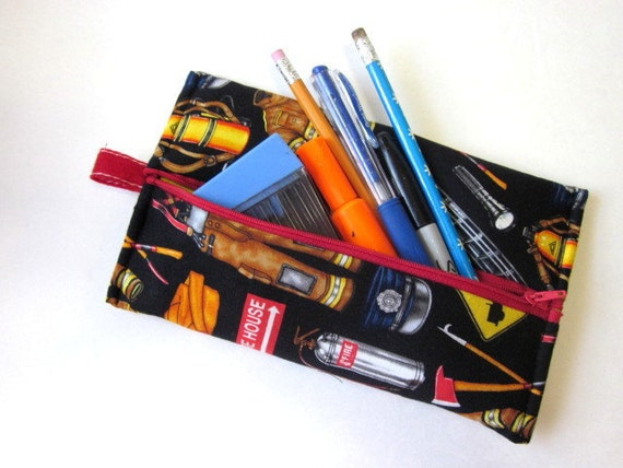 Handmade pencil pouch I love my pencil bag