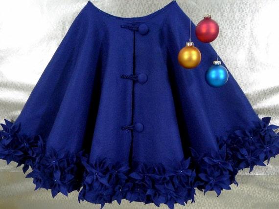 Il 570xN 265450705  - Blue Christmas Tree Skirt