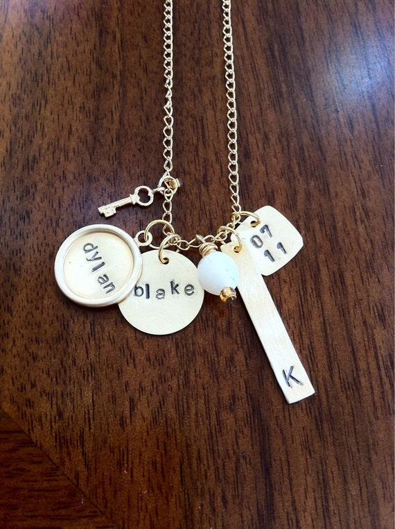 Personalized Stamped Necklace