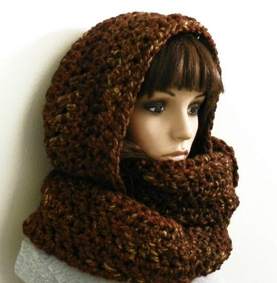 Crochet Pattern For Scarf Hood : CROCHET HOODED SCARF PATTERNS - Crochet Club