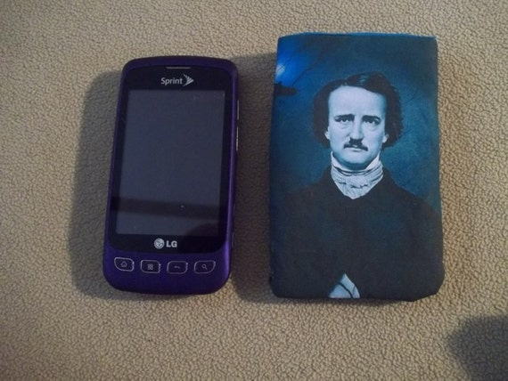 Edgar Allan Poe the Raven Cell Phone Ipod Android IPhone Case Allen