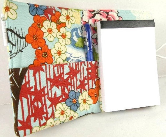 "Organizer Notepad Clutch Journal ""KOTO"" Paper and Pen are Included"