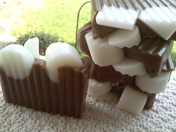 Hot Cocoa Soap Slice