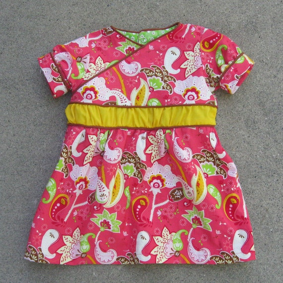 Charlotte Dress: PDF Pattern and Tutorial in 11 Sizes