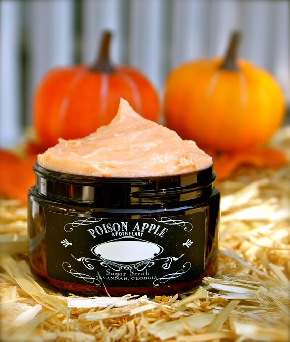 TOASTED PUMPKIN SEED Special Edition Halloween Creamy Whipped Sugar Scrub 6.5 oz