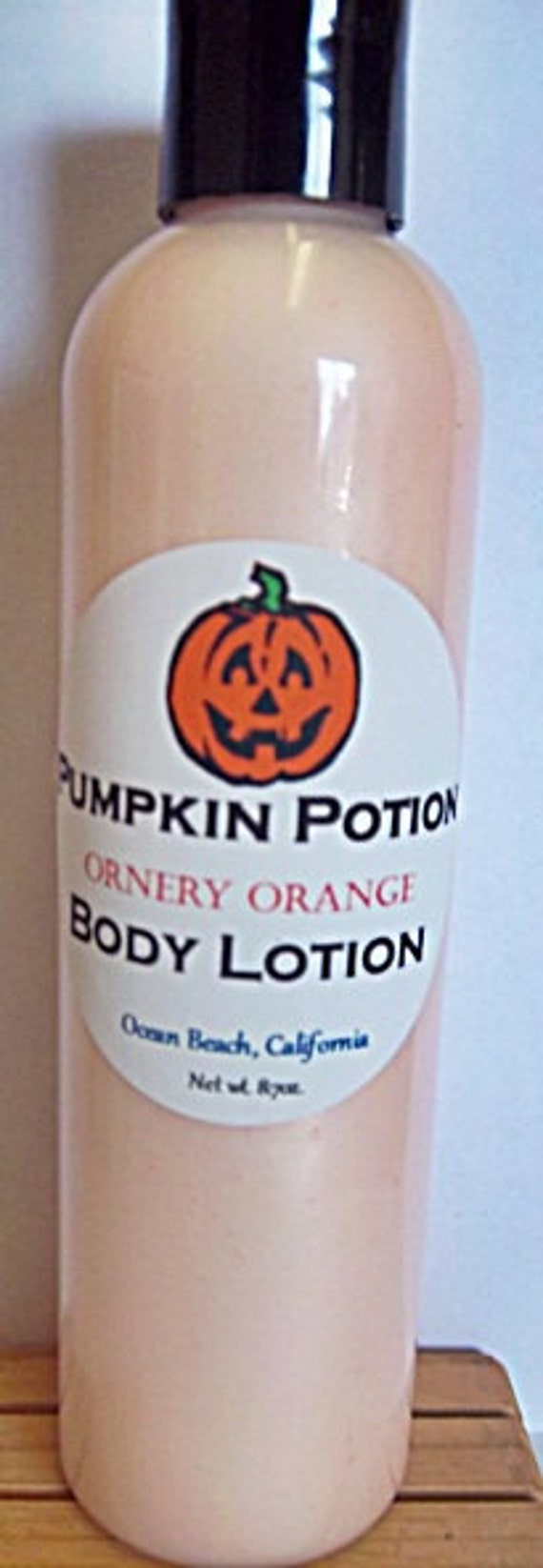 Pumpkin Potion Body Lotion in Ornery Orange Scent-8oz.