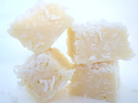 SNOW WHITE Fudge. Approx 1/2 LB. Reduced sugar,no butter/oil. A little piece of Heaven in Every bite. Gift Wrapped.
