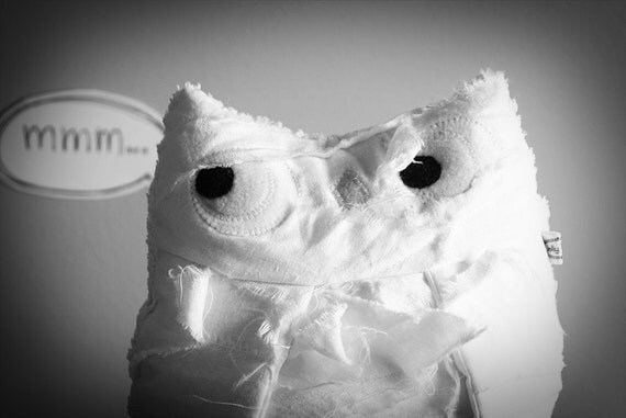 Plush Halloween Mummy Owl Friend - Tut Tut - Limited Edition