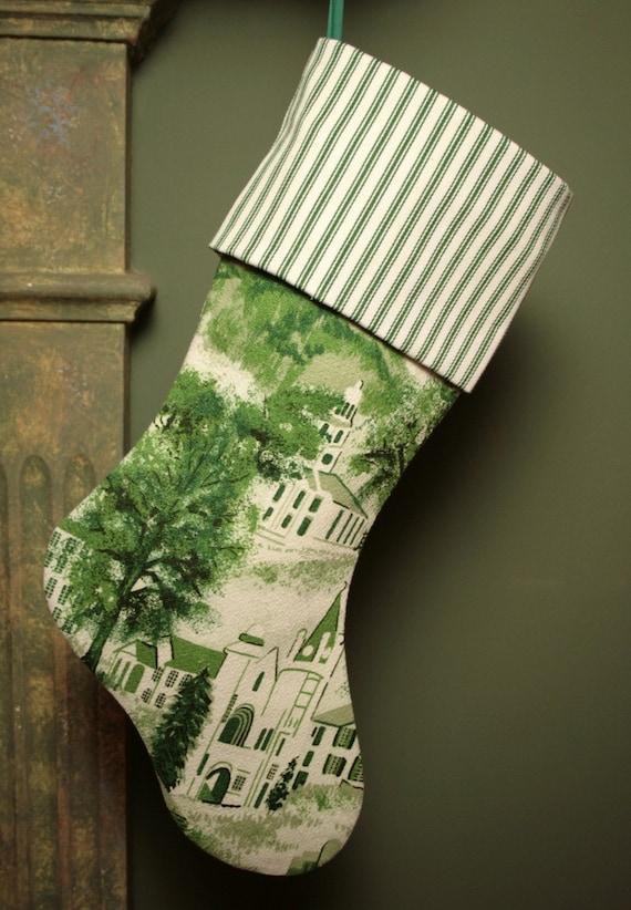 Редкие Бабушка Мозес Уильямстаун Toile Vintage Barkcloth Простые украшения - Чехол манжеты