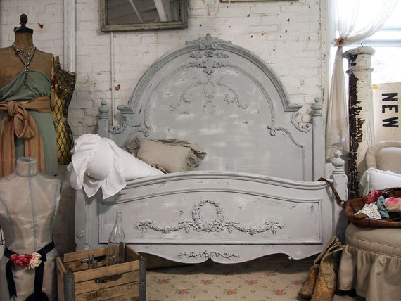 Shabby Chic Queen Headboard