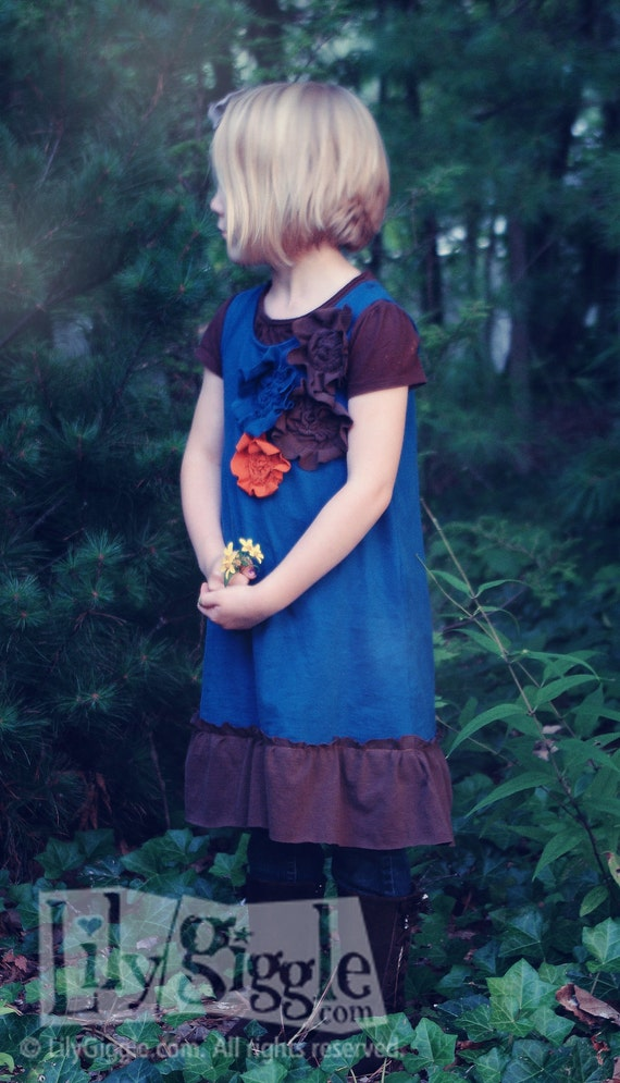 PDF The Secret Garden DRESS E- Pattern and Detailed Tutorial...size 12 months - 6 years  Recently Updated