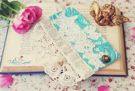 Ищете НЕЖНОСТЬ - 1 викторианской Vintage манжеты Браслеты Романтический кружевной ткани
