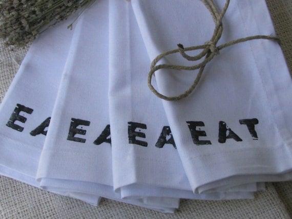 EAT Cloth Dinner Napkins