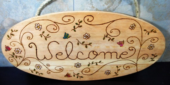 Welcome Sign Original