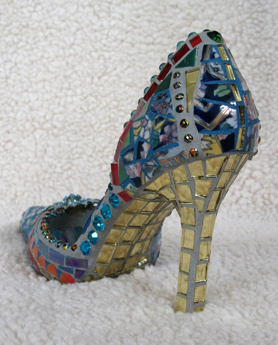 Oriental Bliss   -   Mosaic Shoe