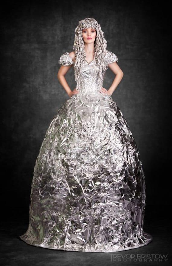 Фольги бальное платье платье
