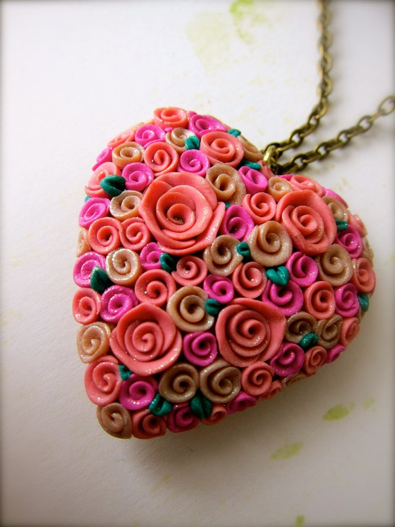 Rose-ful Heart Locket