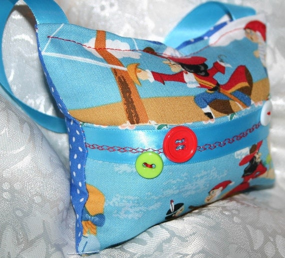 Captain Hook Tooth Fairy Pillow - Jenny Looms