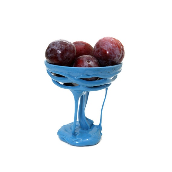 FRuit bowl - Meduim Blue