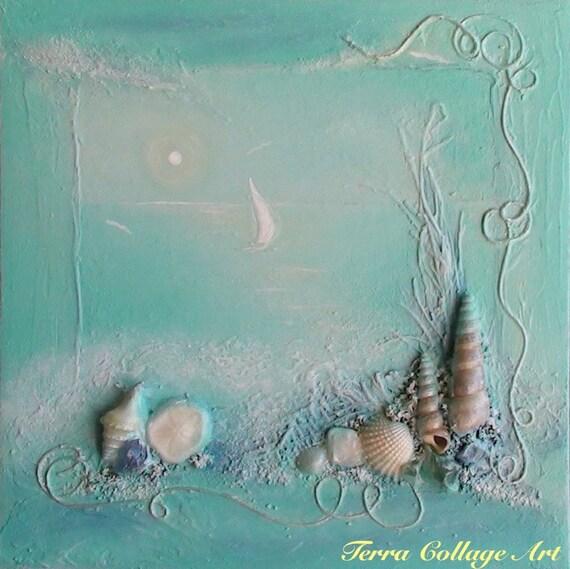 Ocean Dream Оригинальное Смешанные Art Media