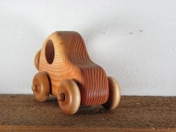 wood car push toy