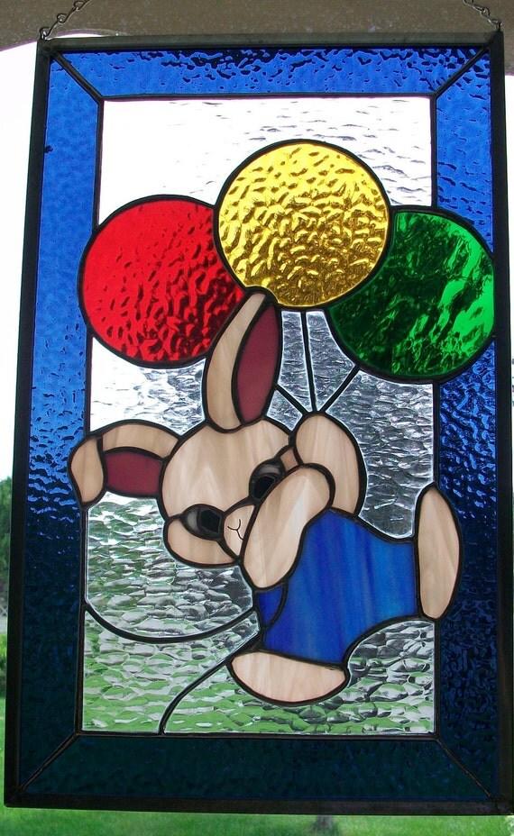 Bunny likes Balloons