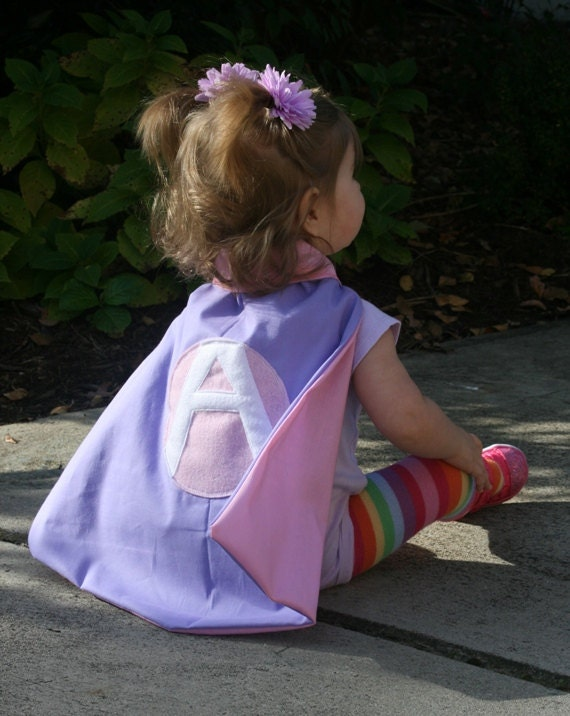 Superhero Cape with Coordinating Eyemask - Custom Superhero Costume