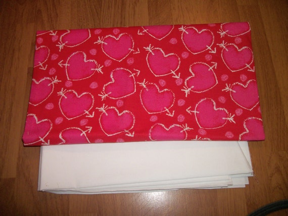 APRON or TOTE Bag - Your choice- Arrows and Hearts- Made to Order