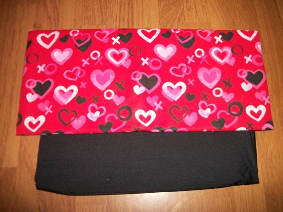 APRON or TOTE Bag - Your choice- Hearts, X's and O's- Made to Order