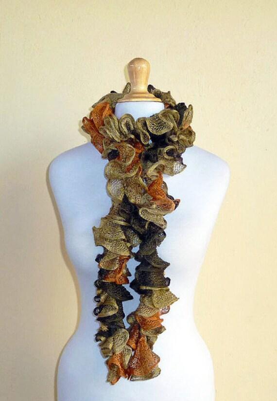 پاییز برگ ژولیده روسری ، راهب ، neckwarmer ، تاه کردن ، فلامنکو ، می تواند می تواند ، مد پاییز