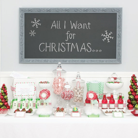 Holiday Mod Collection - as seen in HOUSE OF FIFTY Magazine - Full Printable Collection - on sale