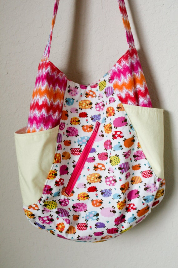 241 Tote - Glitter Sheeps