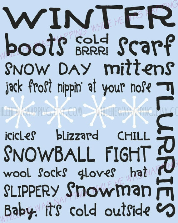 Winter subway art printable while he was napping kuddos to you if youre still reading but i wanted to share this last thing if you find yourself a little busy and stressed during the holidays solutioingenieria Image collections