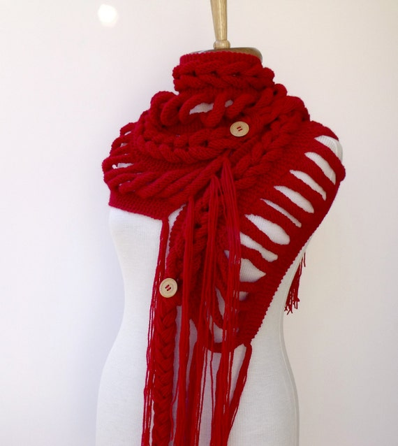 حمل و نقل رایگان جدید Rapunzel روسری قرمز لوازم جانبی آماده برای حمل و نقل سقوط مد - 2012 زمستان ترند برای هدیه