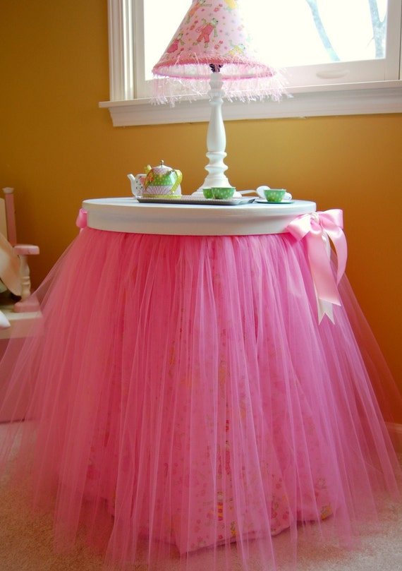 Ballerina Tutu Table Topper