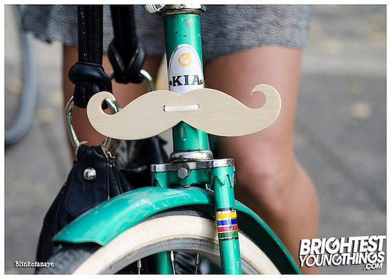 Wooden Handlebar Mustache for Bicycle