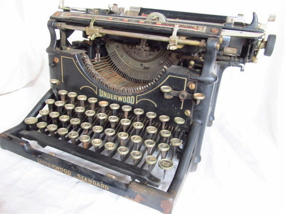 Underwood Standard Model No. 5 Typewriter