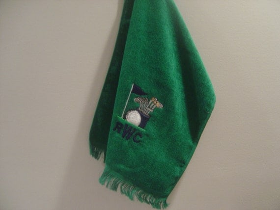 Personalized Golf Towel Embroidered and Monogrammed.