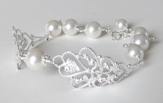 Ellyn - BRIDAL BRACELET - Bridal Jewelry Bridesmaids Gift Wedding Jewelry Bridal Party Gift Bridesmaids Jewelry Wedding Gift