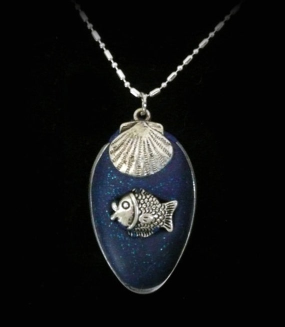 Polymer Clay Fish Pendant