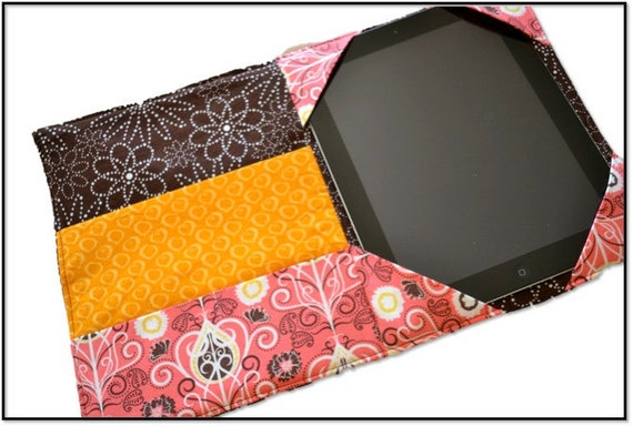 E-Reader Cover Pattern, PDF sewing pattern, iPad, Kindle, Nook, case, sleeve