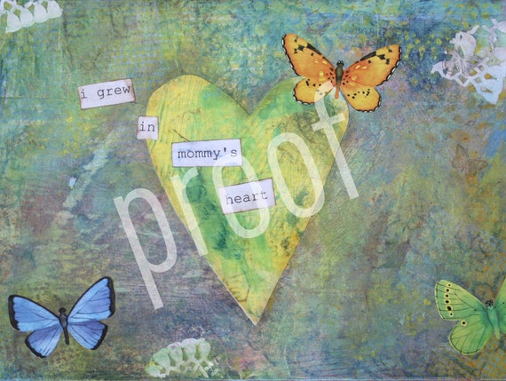 Where I'm From 8x10 Mixed Media Adoption Print-Reece's Rainbow Donation